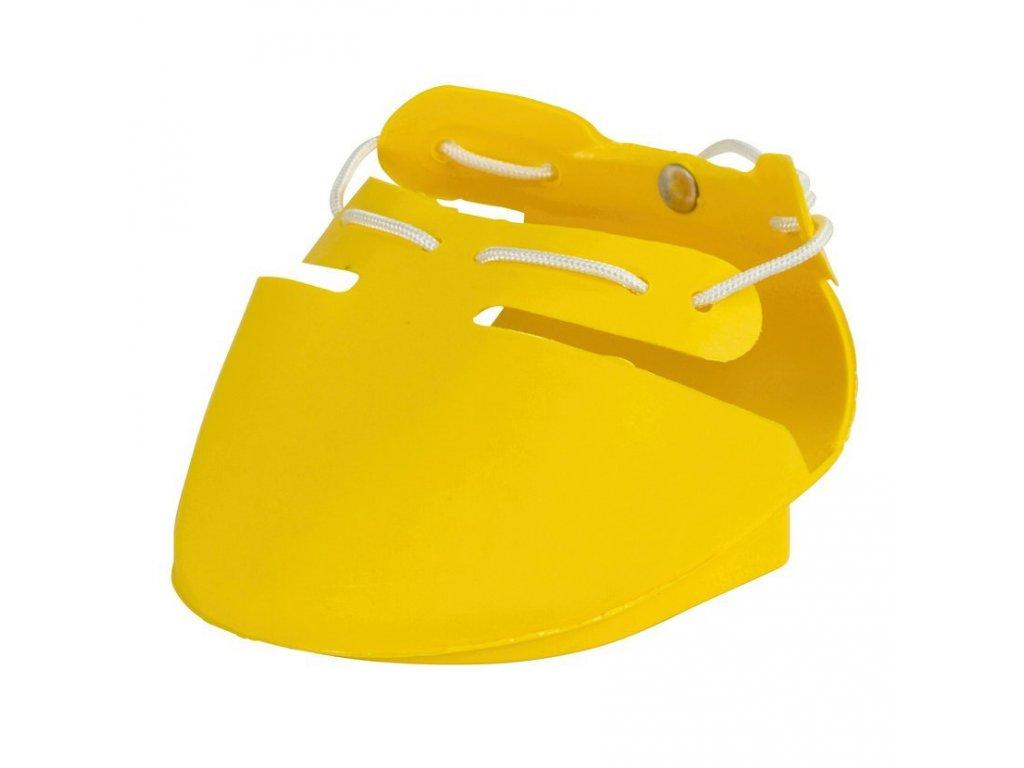 Ochranná bota SHOOF, pravá, modrá, L