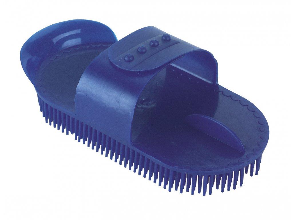 Hřebelec s jehlovými štětinami plastový, modrá