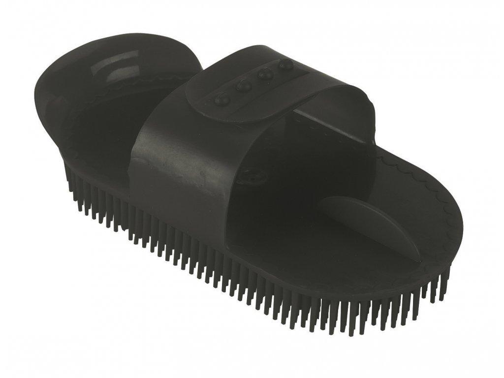 Hřebelec s jehlovými štětinami plastový, černá