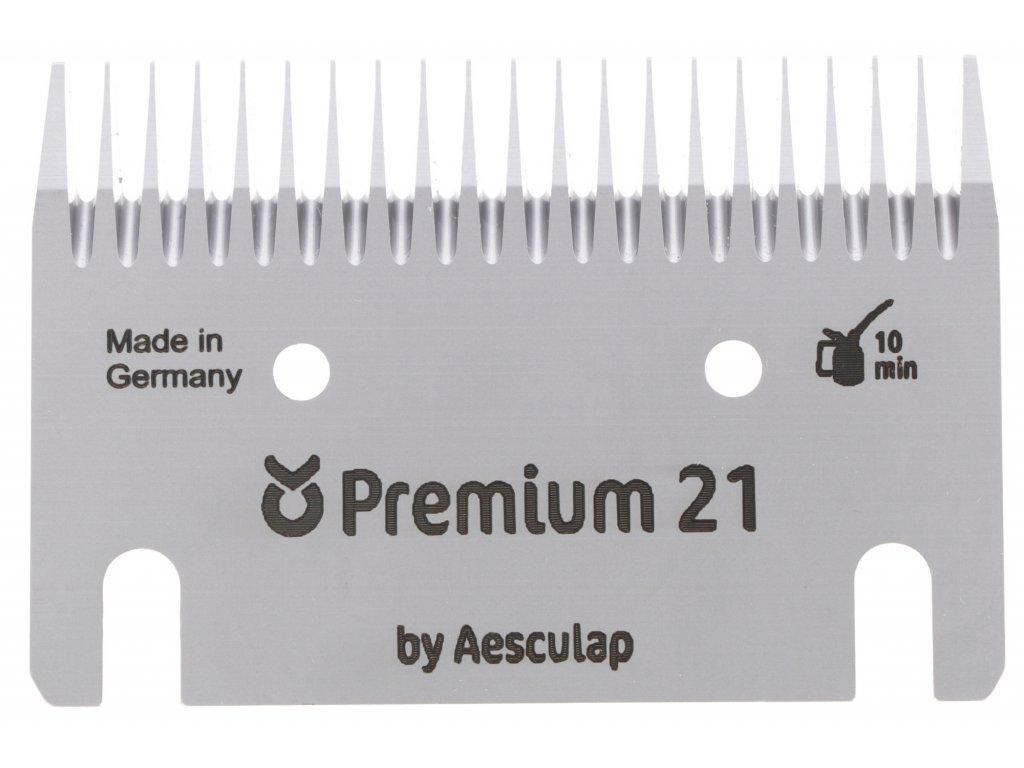 Sada stříhacích nožů Premium 21/23 zubů pro stříhání skotu
