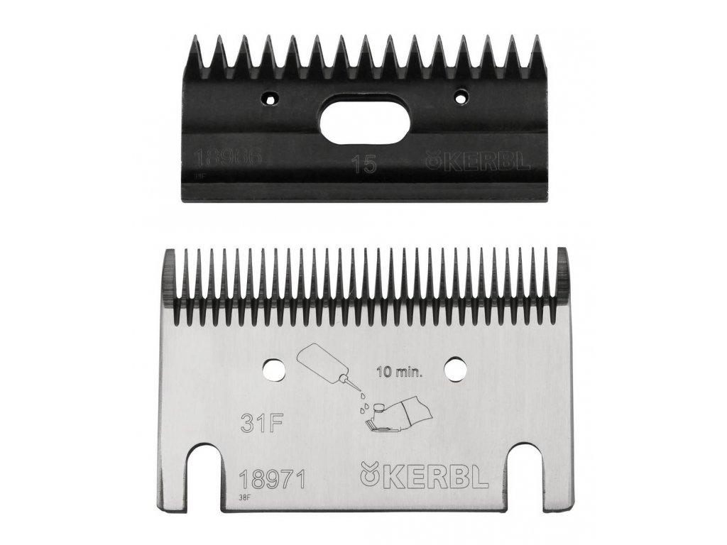 Náhradní nože pro Constanta koně 31F/15z