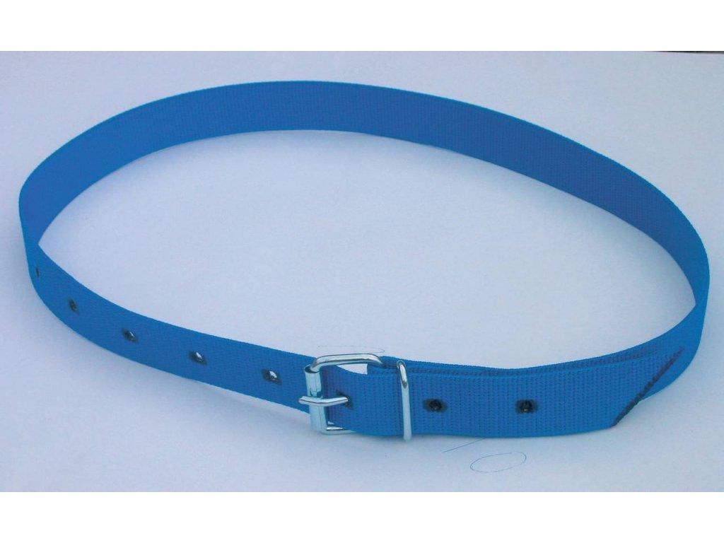 Obojek na krk pro číselné označení modrý 90cm