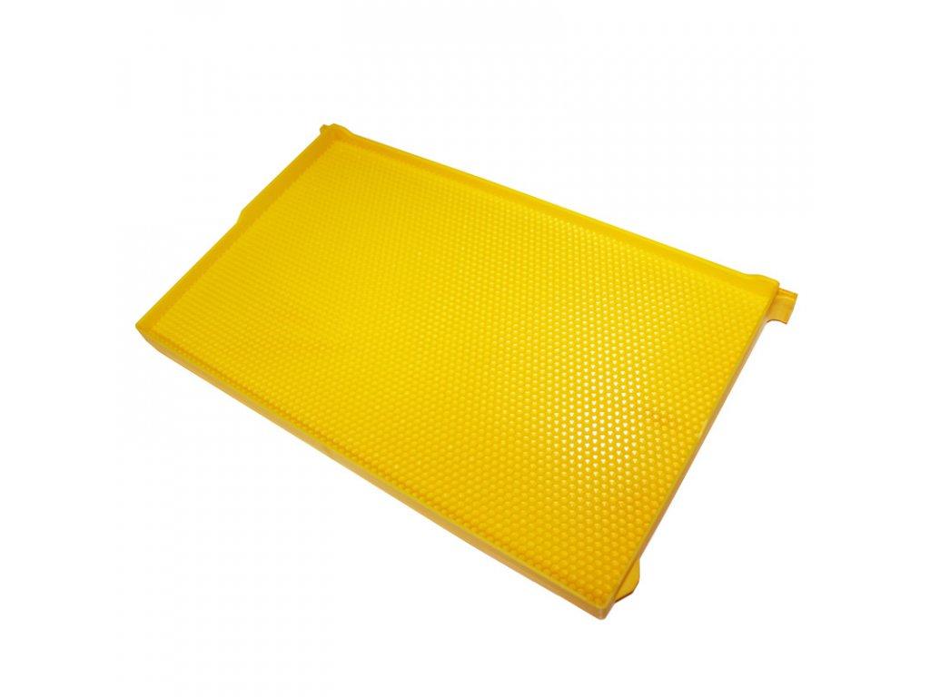 žlutý rámek