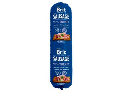 brit dog sausage turkey