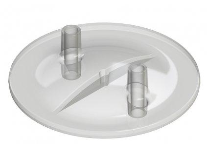 Víko nádoby na dojení 16 x 20 mm