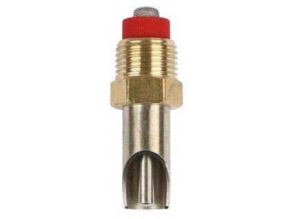 """Napajecí ventil  s kolíkem, 1/2"""" - 3/8"""", 6 mm, 55 mm"""