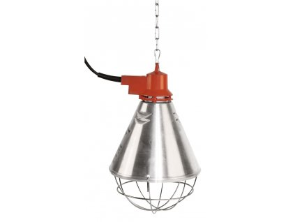 Tepelný zářič s hliníkovým stínítkem a s kabelem 2.5m, 3-stupňovým spínačem