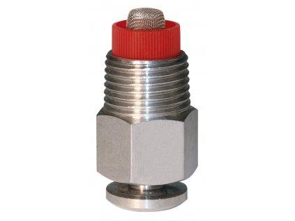 """Napájecí ventil nerez, postřikovací, 1/2"""", O 18 mm, 7 mm"""