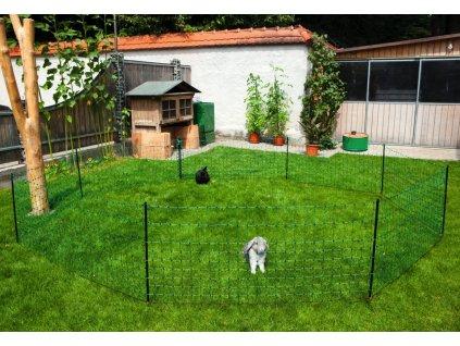Ohradníková síť pro králíky 65cm/25m/jednoduchý hrot