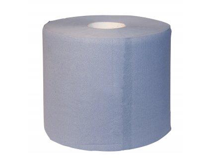 Utěrka na vemeno 2 role po 500 útržcích 37x38 cm 3-vrstvé, modré