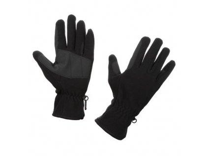 Rukavice Covalliero FLEECE, černá, XL