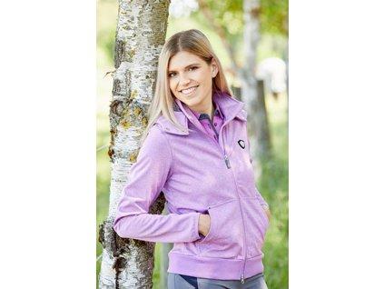 Softshellová bunda Lusia, růžovo-fialová, vel. L