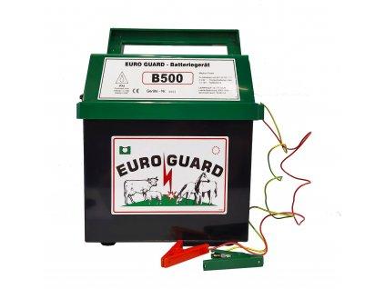 Ohradníkový zdroj bateriový EURO Guard B500