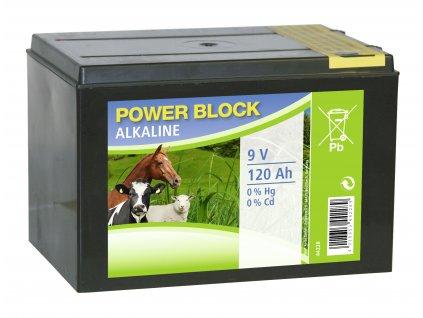 Suchá baterie ALKALINE Dry, 120Ah