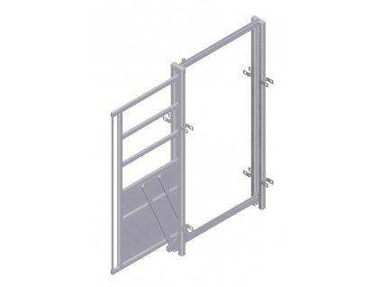Posuvné dveře jednoduché pro 291320, 1x2m