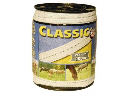 Vodič páska 10mm, 500m, bílá 2x0,20mm, 2x0,30mm, CLASSIC