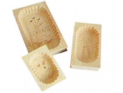 Máslová forma dřevěná 1/4kg