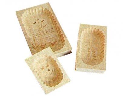 Máslová forma dřevěná 400g