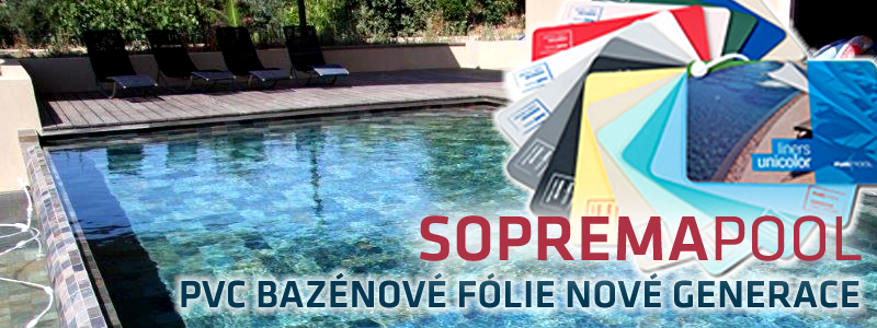 SOPREMAPOOL - PVC bazénové fólie nové generace