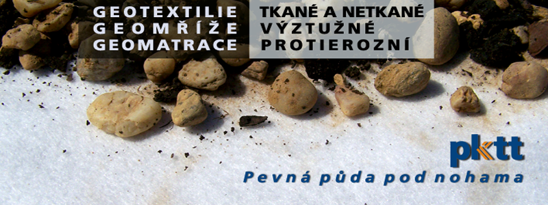 Geotextilie tkané i netkané