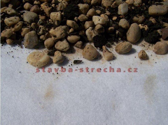 Geotextilie netkaná, separační a ochranná, PK-NONTEX PET 400 g/m2
