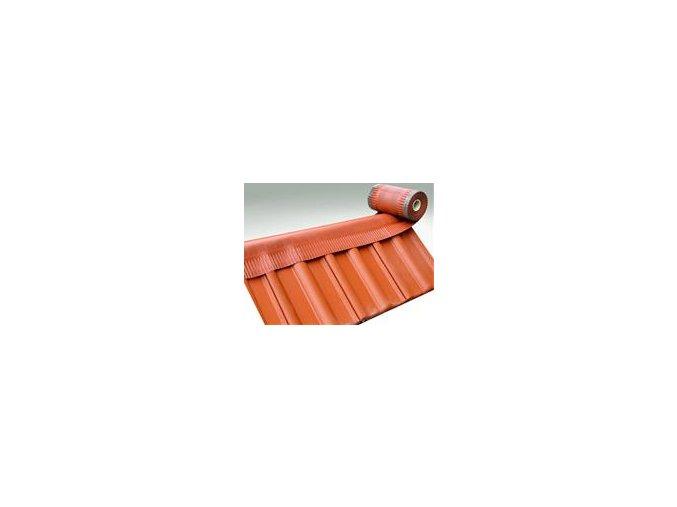 VARIO ROLL THERMO, samolepící větrací pás hřebene a nároží, rozměr 330 mm x 5 m (Barva Červená)