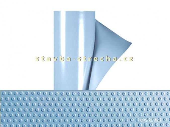 Bazénová PVC fólie, jednobarevná s lakovaným povrchem, protiskluzová, SOPREMAPOOL PREMIUM GRIP