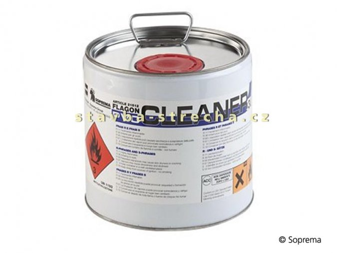 FLAGON PVC CLEANER - čistič povrchu PVC fólií - 3 litry