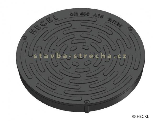 Kanalizační poklop kruhový plastový, ROTUS