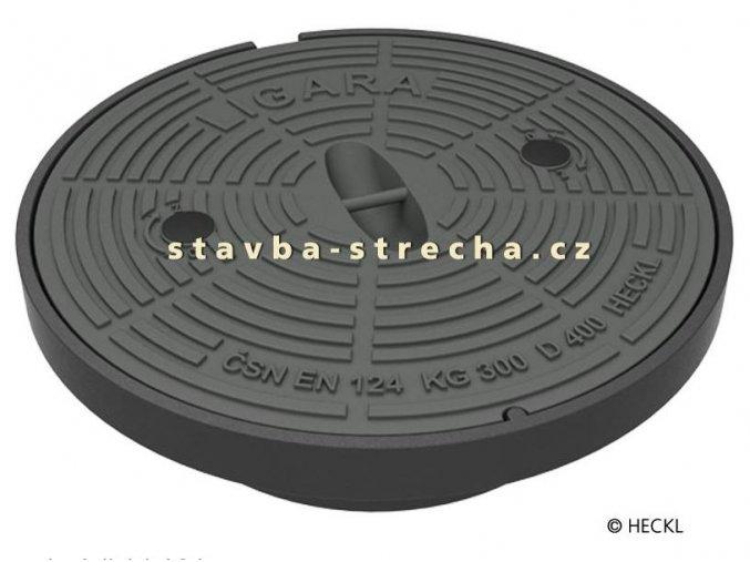 LIGARA litinový poklop kruhový vč. rámu