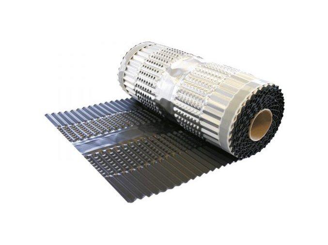 VARIO PROTECT ALU, celohliníkový větrací pás hřebene a nároží, rozměr 360 mm x 5 m (Barva Hnědá)