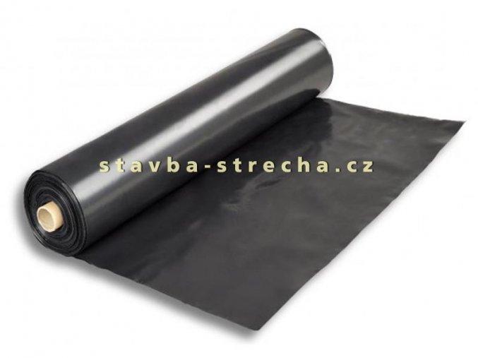 Fólie LDPE stavební a zahradnická černá, SEPATEN QR