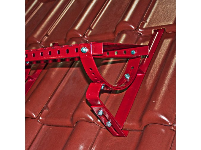 Univerzální stoupací komplet krátký, typ DC/DB, plošina 40 cm x 250 mm s montážní soupravou, (Barva Černá RAL 9005)
