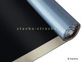 Asfaltový pás hydroizolační, samolepicí, modifikovaný SBS, vyztužený sklo/polyester, tl. 3 mm, -25°C, 1 x 10 m, SOPRALENE STICK 30