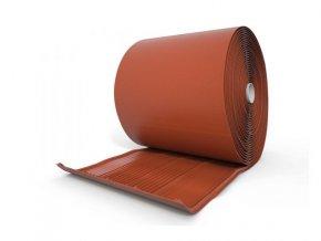 Pás úžlabí plastový, podélně profilovaný, UV stabilní, rozměr 475 mm x 10 m (Barva Hnědá)