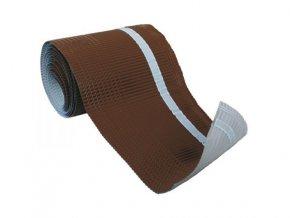 Okapnice VARIO ROLL hliníková rolovací s integrovanou lepící páskou, 230 mm x 15 m (Barva Hnědá)