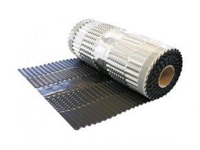 VARIO PROTECT ALU, celohliníkový větrací pás hřebene a nároží, rozměr 330 mm x 5 m (Barva Hnědá)