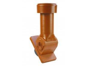 AIR-TOP, ventilační komínek, výška 230 mm (Barva Hnědá)