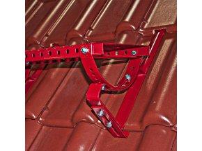 Univerzální stoupací komplet dlouhý, typ DC/DB, plošina 80 cm x 250 mm s montážní soupravou, (Barva Černá RAL 9005)