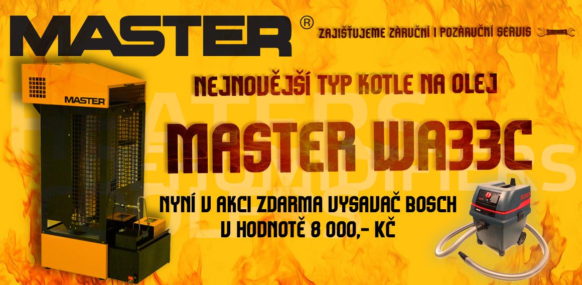 Master WA33C kotel na olej