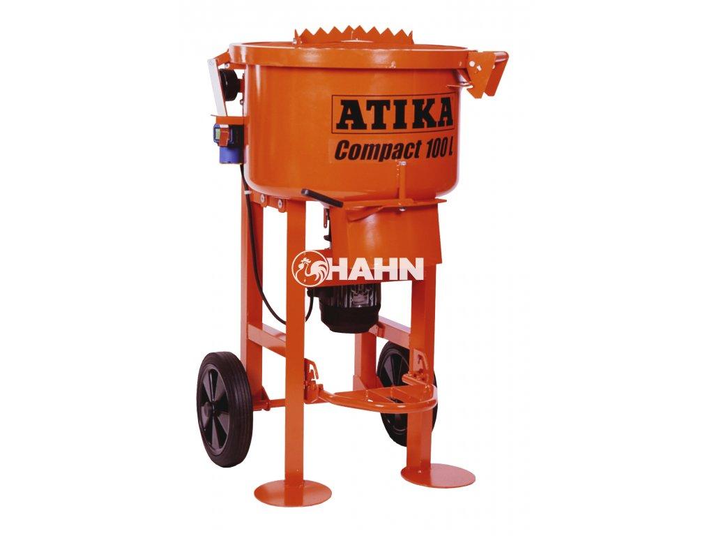 Stavební míchačka talířová ATIKA Compact 100 - 230V, 2000W  +