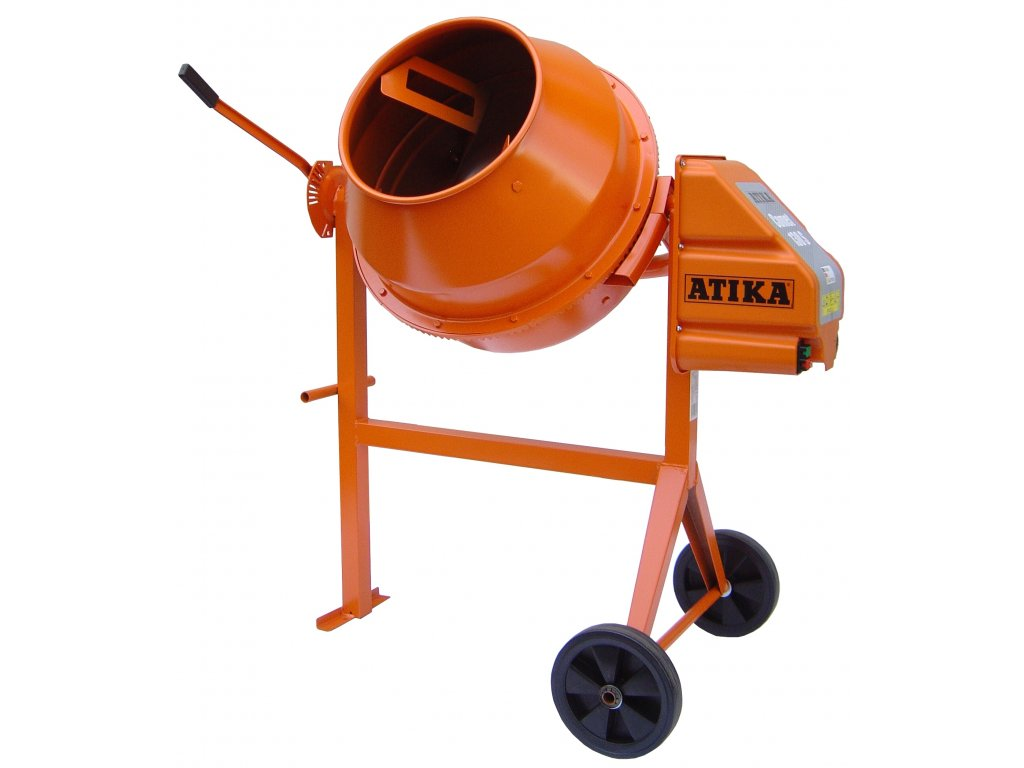 Stavební míchačka ATIKA Comet 130 L - 400V, 750W