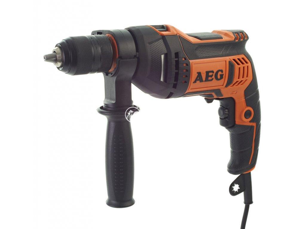 AEG Příklepová vrtačka SBE 750 RE