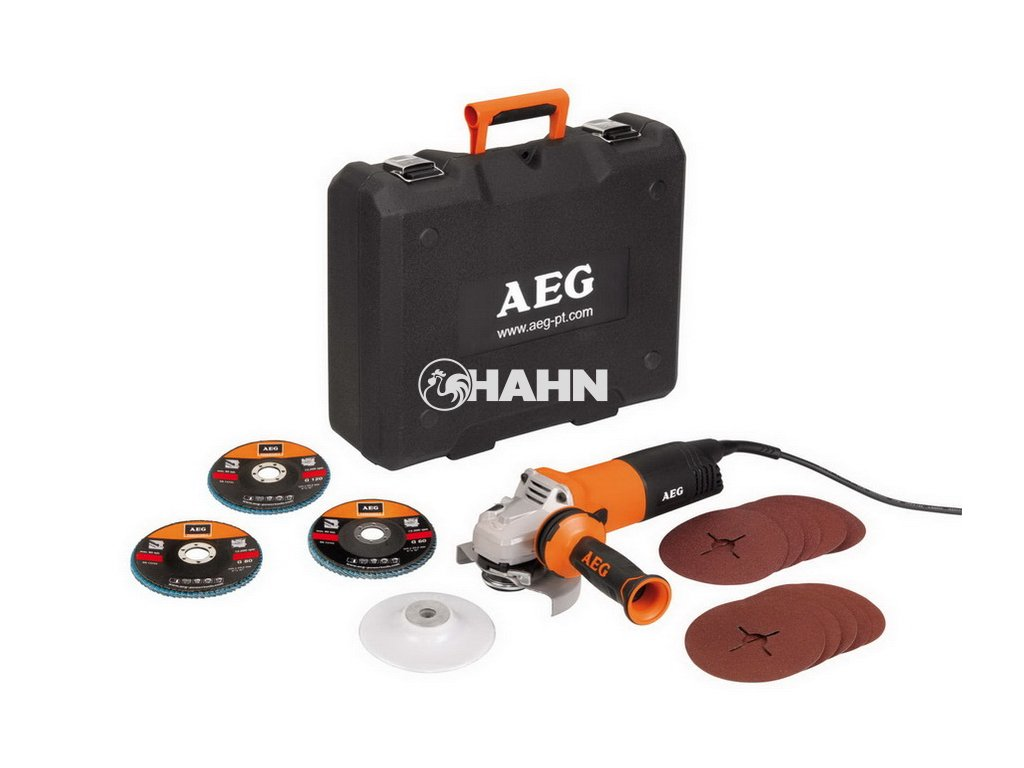 AEG Malá úhlová bruska WS 12-125 XE Kit