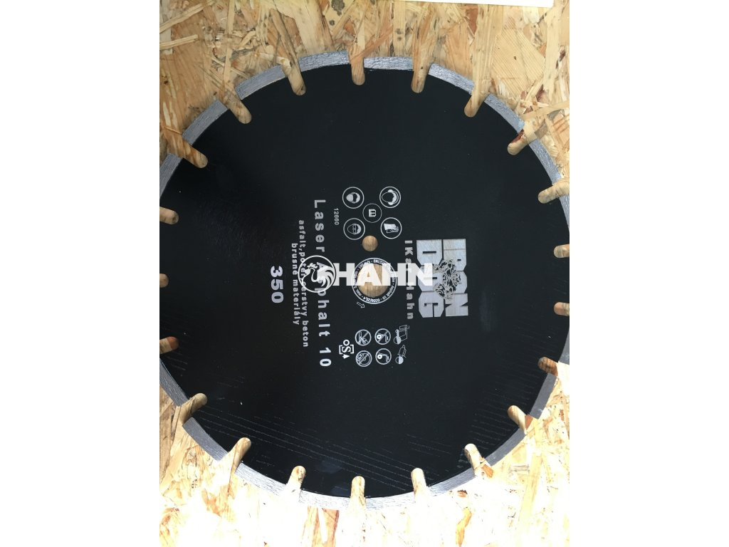 Diamantový kotouč ASFALT 350 - 25,4mm