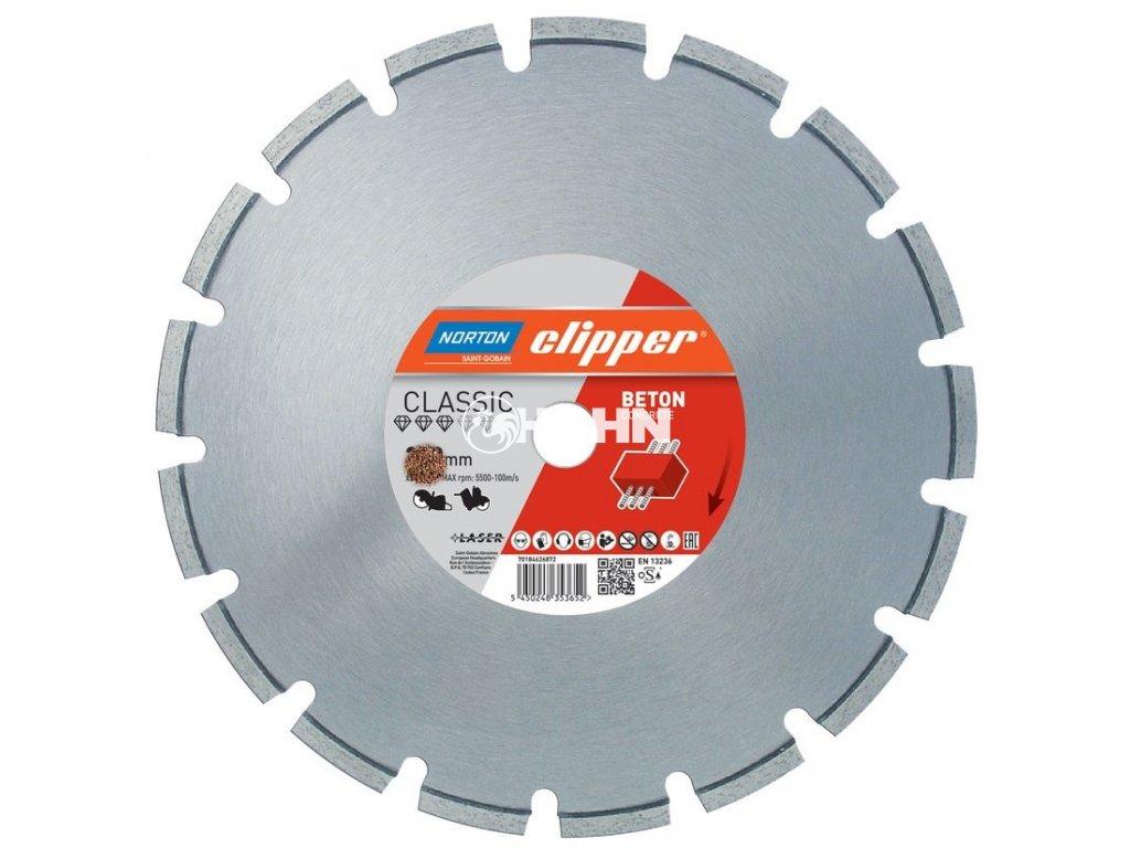 Diamantový kotouč CLASSIC BETON průměr 400mm (pro ruční pily a řezače spár)