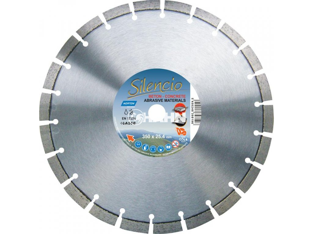 Diamantový kotouč  Silencio BETON průměr 350mm (pro řezače spár)