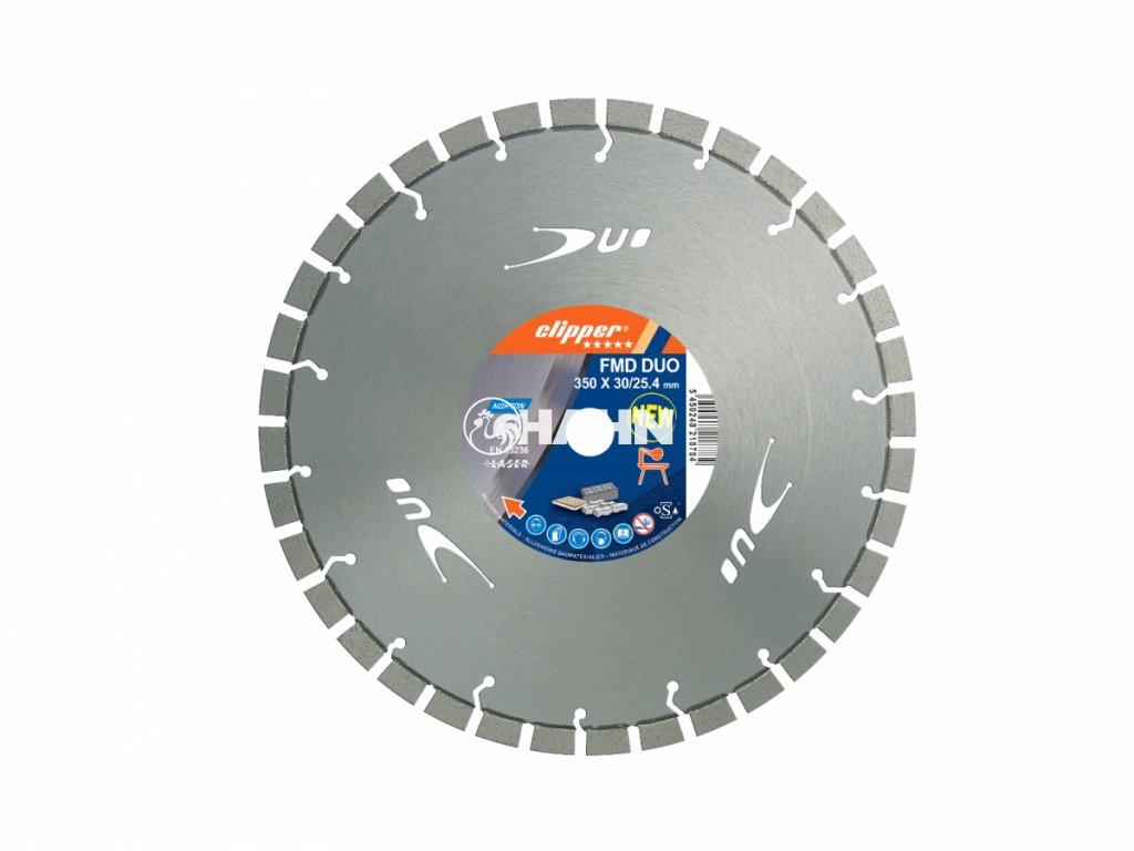 Diamantový kotouč FMD DUO průměr 350mm (pro stolní pily)