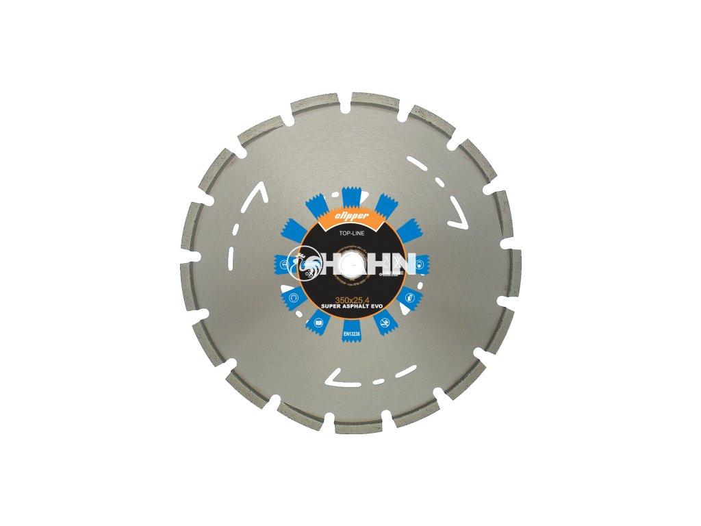 Diamantový kotouč SUPER ASPHALT EVO  průměr 350mm (pro ruční pily a řezače spár)