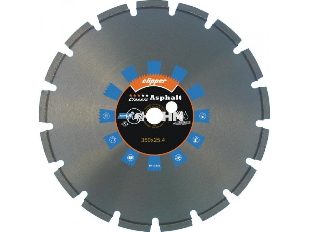 Diamantový kotouč CLASSIC ASPHALT průměr 350mm (pro ruční pily a řezače spár)